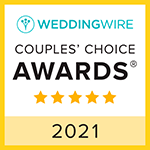 Wedding Wire Couples' Choice Awards 2021
